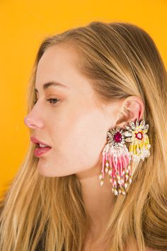 Have earrings will #selfie.