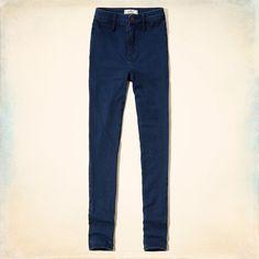 Girls Hollister Blake Natural Waist Jeggings | Girls Jeans & Bottoms | HollisterCo.com