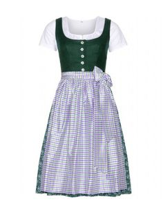 #lanz - mytheresa.com exclusive bärbel dirndl with grete blouse and printed apron