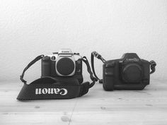 51/365 | 20.02.2017 selling those beauties with lenses straps and some more stuff soon. If you're interested in analog canon cameras please write me a message :) | 365.tobiashage.de |  #achisto365 #365photochallenge #365project #iphone #iphone5s #canon #analog #camera