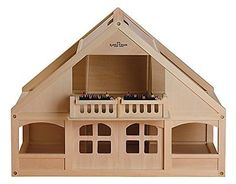 Small World Toys Ryan''s Room Wooden Doll House -Home Again, Home Again