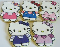 Hello Kitty cookie...Piper would love these!!
