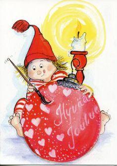 Nannalta 2014 Whimsical Christmas, Christmas Fairy, Christmas Clipart, Vintage Christmas Cards, Christmas Images, Christmas Crafts, Gourd Art, Winter Cards, Winter Fun