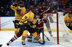 Bobcats Hockey Blog: Landon Smith's hat trick leads Quinnipiac to 6-3 w...