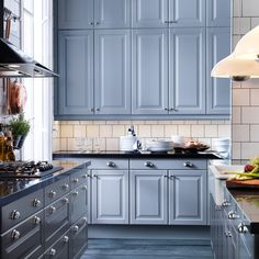 IKEA kitchen cabinets #deltafaucetinspired. Love the white and ...