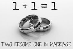 two become one - doesn't mean wife no longer a self!