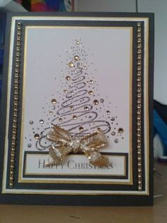 Christmas card. Love that it actually say Merry Christmas.