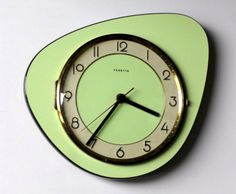 Nice 52 Excellent Designs Of Kitchen Wall Clocks. More at https://trendecor.co/2017/10/08/52-excellent-designs-kitchen-wall-clocks/