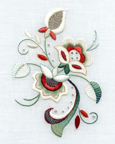 Marvelous Crewel Embroidery Long Short Soft Shading In Colors Ideas. Enchanting Crewel Embroidery Long Short Soft Shading In Colors Ideas. Bordado Jacobean, Crewel Embroidery Kits, Paper Embroidery, Learn Embroidery, Hand Embroidery Patterns, Machine Embroidery Designs, Embroidery Tattoo, Embroidery Supplies, Embroidery Services