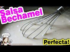 Como hacer una Salsa Bechamel perfecta Receta Fácil | La Cocina de Gisele