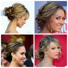 low romantic updos | Low Updos