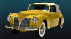 1941 Lincoln Continental - Cabriolet