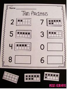 Miss Giraffe's Class: Building Number Sense in First Grade