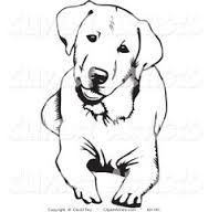 labrador tattoo with wings - Google Search