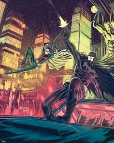 Batman and Robin by JoseRealArt on DeviantArt