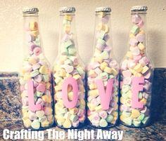 Candy Love Bottles