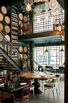 Aydınlatma ve Dekor Dünyasından Gelişmeler: Munge Leung Design'dan Toronto'da Trattoria Mercatto Restaurant