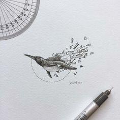 Il y a quelques temps déjà, je vous avais présenté les superbes illustrations sur papier réalisé par l'artiste Kerby Rosanes, un mélange harmonieux d'animaux et de polygones dans une série appelée Geometric Beasts. Et bien l'artiste ne s'est pas arrêté, il a continué sa série avec de nouveaux animaux  Le compte Instagram de Kerby […]