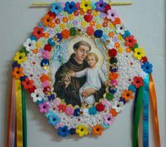 Dicas e sugestões para decoração de Festas Juninas Spanish Projects, Projects To Try, E Craft, Arte Popular, Mexican Art, Crochet Home, Sacred Heart, Holidays And Events, Decoupage