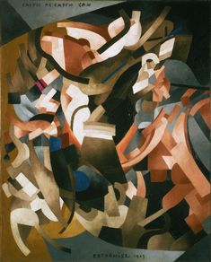1913 CATCH AS CATCH CAN, Francis-Marie Martinez de Picabia (French 1879~1953)
