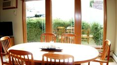 Another view of the dining room, taken from the kitchen