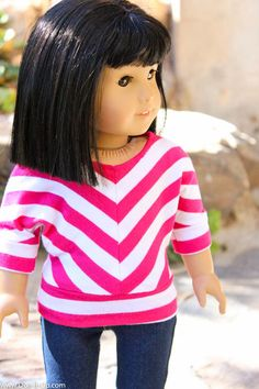 Dolman Shirt for Dolls-15