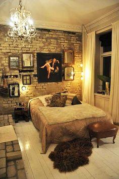 pared,ladrillos a la vista,revestimiento,impacto visual,vivienda,reformas,paredes con ladrillo