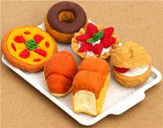 Iwako erasers Bakery 6 pieces set 4