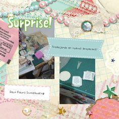 Shhhhh Deux Fleurs Scrapbooking trabajando en nuevos proyectos y encargues! Graciasssssssss por elegirnos!