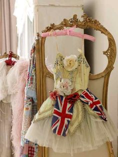 Pastels and Union Jack