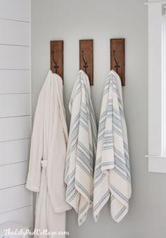 Lake House Master Bathroom | The Lilypad Cottage