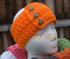 A personal favorite from my Etsy shop https://www.etsy.com/listing/250478929/headband-ear-warmers-crochet-headband