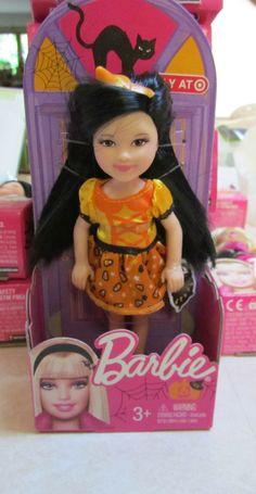 Barbie Halloween, Pumpkin Halloween Costume, Samhain Halloween, Halloween Pumpkins, New Barbie Dolls, Barbie 90s, Doll Clothes Barbie, Doll Toys, Little Kelly