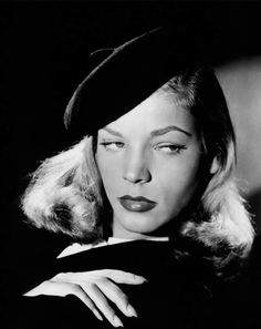 Lauren Bacall as Vivian Rutledge in The Big Sleep (1946).