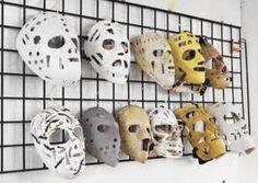 Evolution of the goalie mask