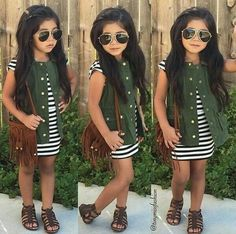 Outfits niños, cute fall outfits, cute outfits for kids, spring outfits, . Toddler Girl Style, Toddler Girl Outfits, Toddler Fashion, Kids Fashion, Fashion Clothes, Latest Fashion, Fashion 2016, Toddler Girls Clothes, Toddler Hair