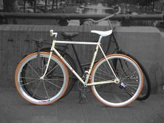 Fixed Bike Gazelle - Amsterdam