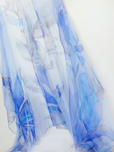 hand-painted silk scarf by rgstudio.lt/