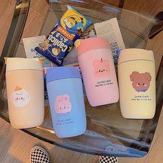 Cute Water Bottles, Teen Bedroom Designs, Kawaii Room, Cute School Supplies, Pink Wallpaper Iphone, Vacuum Flask, Cute Disney Wallpaper, Diy Phone Case, Cute Mugs