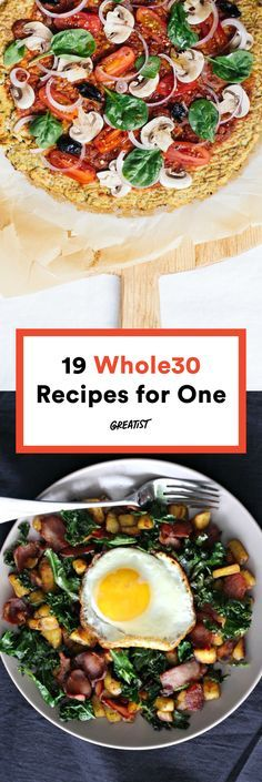 Gone are the days of too many leftovers and too much time spent in the kitchen — behold the best Whole30-approved recipes for one.