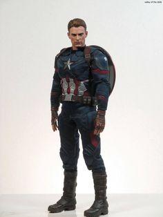 https://flic.kr/p/MnMnSs | Captain America:Civil War | From Hot Toys!