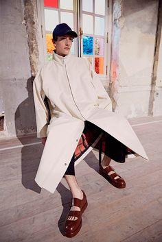 Acne Studios presenteditsSpring/Summer 2017 collection during Paris Fashion Week.
