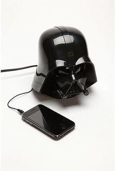 Darth Vader alarm clock.. Wonder if it would actually wake Jared up?