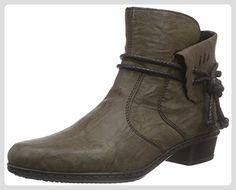 Rieker Y0793, Damen Kurzschaft Stiefel, Braun (mud/25), 39 EU (6 Damen UK) - Stiefel für frauen (*Partner-Link)