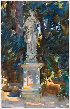 John Singer Sargent / Boboli / circa 1906