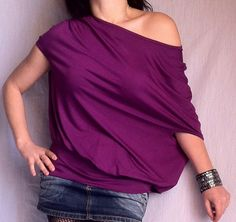 Hey, I found this really awesome Etsy listing at http://www.etsy.com/listing/93305062/wide-off-shoulder-blouse-made-from