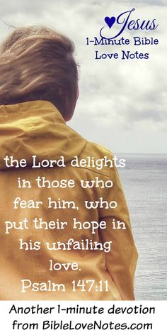 God Enjoys the Process - He delights in those who fear Him