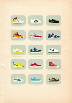 The Art of Sneakers Poster