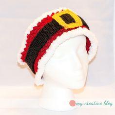 """Santa Baby"" Earwarmer - free crochet pattern by Heather Boyer / My Creative B"