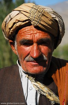 Elderly man in the small mountain village of Shughnan, AFGHANISTAN